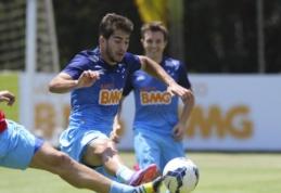"""Madrido """"Real"""" ir """"Chelsea"""" kovoja dėl """"Cruzeiro"""" saugo L.Silva parašo"""