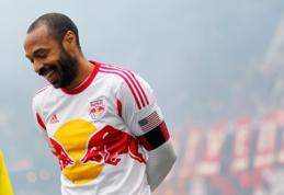 """PSG ir """"Monaco"""" vilioja apie karjeros pabaigą galvojantį T.Henry"""