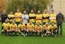 Futbolo aikštėje susitiks Lietuvos ir Estijos žurnalistai