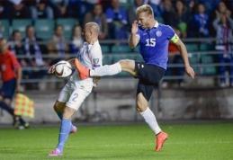 """R. Zdančius: """"Estijos rinktinė žaidžia itin drausmingą futbolą"""""""