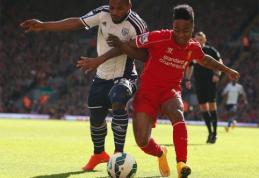 """""""Liverpool"""" treneris tikisi išlaikyti """"Real"""" ir PSG viliojamą Sterlingą"""