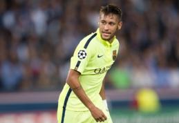 """Neymaro tėvas: Madrido """"Real"""" už mano sūnų siūlė 150 mln. eurų"""