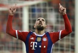 """F.Ribery atskleidė, kad 2009 metais buvo arti persikėlimo į Madrido """"Real"""""""