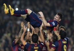 """L.Messi įvarčių rekordas pažymėtas pergale prieš """"Sevilla"""", Madrido ekipoms sunkumų nekilo (VIDEO)"""