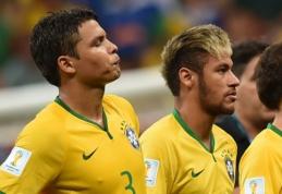 Brazilijos rinktinėje kapitono raištį praradęs T.Silva: jaučiuosi įskaudintas