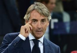 """R. Mancini: rungtynės prieš """"Inter"""" taps kone lemiamomis """"Juventus"""" ekipai"""