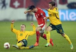 G.Arlauskiui nepavyko išgelbėti Lietuvos rinktinės nuo sutriuškinimo (FOTO)