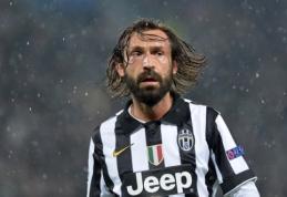 """""""Juventus"""" prieš """"Parma"""" turės verstis be A.Pirlo paslaugų"""