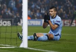 """S.Aguero: """"Man City"""" ekipoje liksiu tol, kol laimėsime Čempionų lygą"""