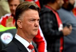 """L. van Gaalas: gali praeiti net treji metai, kol """"Man United"""" sugrįš į pergalių kelią"""