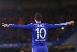 """Spauda: G.Bale'ą """"Real"""" klube gali pakeisti E.Hazardas?"""