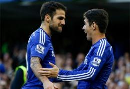 """Oscaras: C.Fabregasas pakėlė """"Chelsea"""" į kitą lygmenį"""