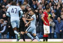"Mančesterio derbyje - minimali ""Man City"" pergalė (VIDEO)"