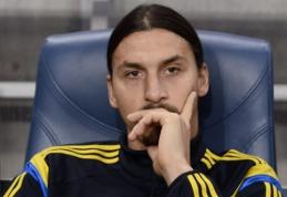 """Z.Ibrahimovičius nerimauja, kad puikaus sezono """"Ballon d'Or"""" rinkimuose neužteks"""