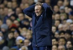 """Išsiskyrė """"Crystal Palace"""" ir trenerio N.Warnocko keliai"""