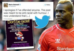 """M.Balotelli atsirūgo skandalingas įrašas """"Instagram"""" tinkle"""