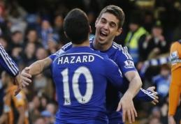 """""""Chelsea"""" ir """"Man City"""" įveikė varžovus, """"Arsenal"""" sutriuškino """"Newcastle"""" ekipą (VIDEO)"""