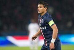 PSG gynėjas T.Silva: žaidžiama blogiau nei praėjusį sezoną