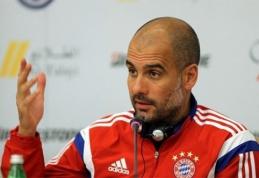 """J.Guardiola: """"Turėsime analizuoti, kas čia įvyko"""""""