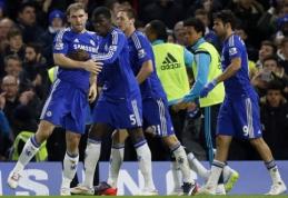 """""""Chelsea"""" po pratęsimo palaužė """"Liverpool"""" ir žengė į FA taurės finalą (VIDEO)"""