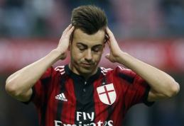 """""""Milan"""" puolėjas S.El Shaarawy nežais apie du mėnesius"""