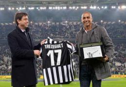 Prancūzijos futbolo legenda D.Trezeguet baigia žaidėjo karjerą (VIDEO)