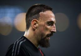 "F.Ribery: ""Svajoju vėl laimėti ""treble"""