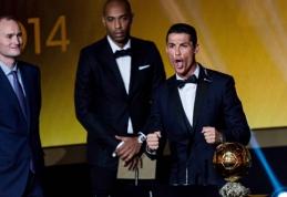 J. Cruyffas: Ronaldo triumfas Auksinio kamuolio rinkimuose – absurdas
