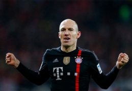 """A.Robbenas: """"Palikti """"Real"""" - geriausias mano karjeros sprendimas"""""""