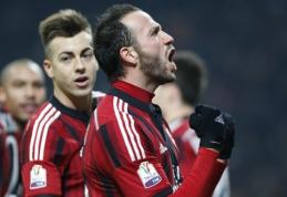 """""""Milan"""" - Italijos taurės ketvirtfinalyje (VIDEO)"""