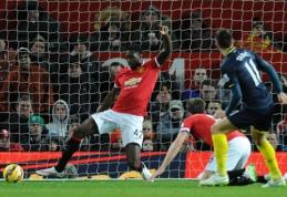 """D.Tadičiaus įvartis nulėmė pergalę prieš """"Man Utd"""", """"Arsenal"""" neturėjo vargo su """"Stoke City"""" (VIDEO)"""