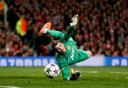 """""""Man Utd"""" ruošiasi padvigubinti atlyginimą D.De Gea"""