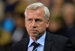 "Oficialu: A.Pardew diriguos ""Crystal Palace"" klubui"