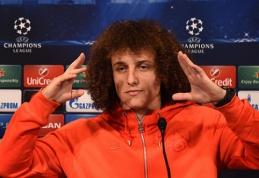 """D.Luizas žino, kuris """"Chelsea"""" žaidėjas yra pavojingiausias"""