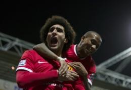 """FA taurės ketvirtfinalyje """"Man Utd"""" susigrums su """"Arsenal"""" (VIDEO, BURTAI)"""
