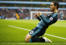 """E.Hazardas pasirašė naują kontraktą su """"Chelsea"""""""