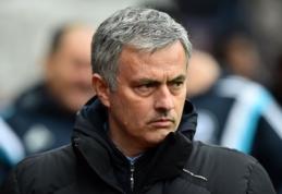 """J.Mourinho: septynių taškų persvara prieš """"Man City"""" dar nieko nereiškia"""