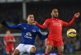 """Liverpulio derbis baigėsi be įvarčių, """"Chelsea"""" ir """"Man City"""" ekipoms sekėsi skirtingai (VIDEO)"""