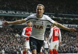 """H.Kane'o vedama """"Tottenham"""" Šiaurės Londono derbyje pranoko """"Arsenal"""" (VIDEO)"""