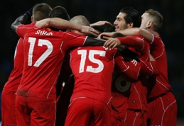 """""""Liverpool"""" paskutinėmis rungtynių minutėmis palaužė """"Bolton"""" ir pateko į FA taurės aštuntfinalį (VIDEO)"""
