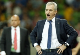 Japonijos rinktinė iš trenerio pareigų atleido J.Aguirre