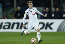 """J. Klinsmannas: tikiuosi, kad Eriksenas atstovaus """"Tottenham"""" ilgus metus"""