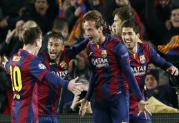 """I. Rakitičius: Messi žaidimu mėgavosi net """"Man City"""""""