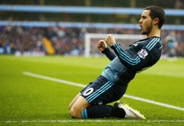 M.Wilmotsas: E.Hazardo neturėtume lyginti su L.Messi ar C.Ronaldo