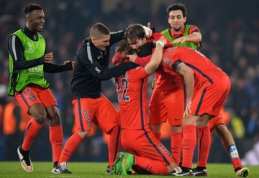 "Čempionų lyga: Teisėjo gniuždytas PSG eliminavo ""Chelsea"", ""Bayern"" sutrypė ""Shakhtar"" (VIDEO, FOTO)"