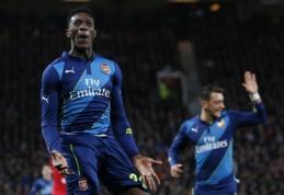 """FA taurės ketvirtfinalyje - """"Arsenal"""" pergalė prieš """"Man Utd"""" (VIDEO, + BURTAI)"""