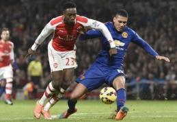 """FA taurėje - """"Man Utd"""" ir """"Arsenal"""" futbolininkų susirėmimas"""