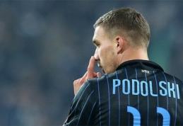 """L.Podolskis - tarp blogiausių """"Serie A"""" naujokų"""