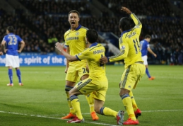 "Londono ""Chelsea"" - per žingsnį čempionų titulo link (VIDEO)"
