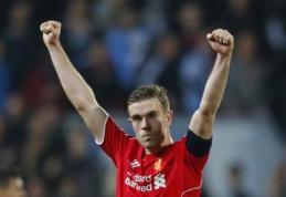 """J.Hendersonas pasirašė naują sutartį su """"Liverpool"""" klubu"""